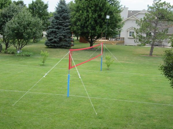 Apollo Backyard Volleyball Set First Team Sports