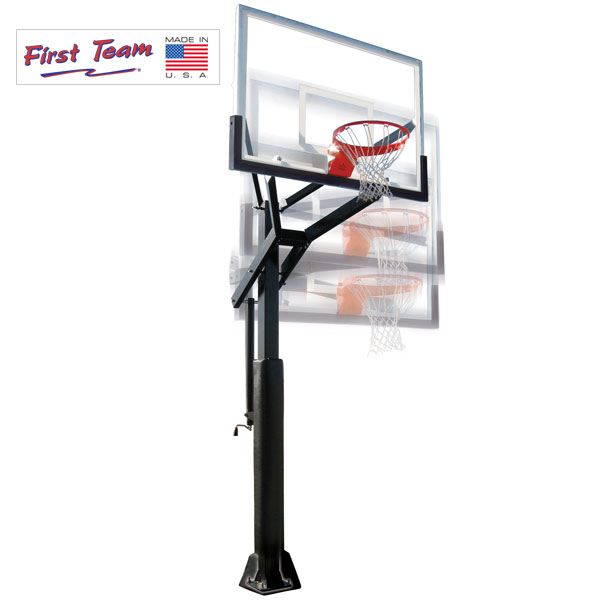 PowerHouse 5 In Ground Adjustable Basketball Goal  dd0ceb4f21