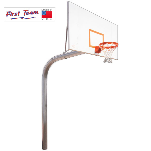 Brute Fixed Height Basketball Goal First Team Inc