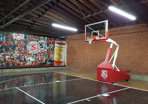 Choosing the Right Basketball Hoop for Your Gym | First Team Inc.