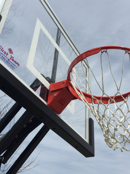 Champ In Ground Adjustable Basketball Goal First Team Inc