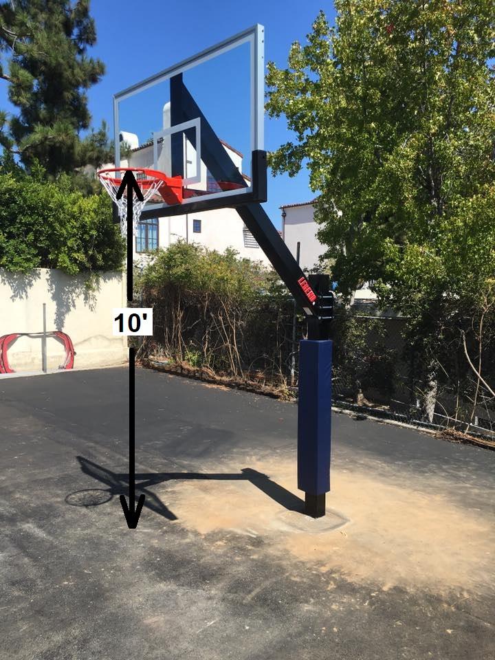 Basketball Goal Regulation Height First Team Inc